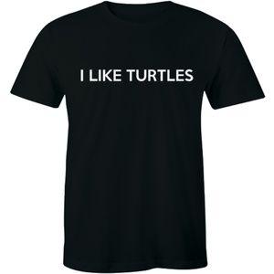 I Like Turtles Lover Nerd Geek Humor Men's T-shirt